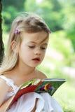 dziecka czytanie Obrazy Stock