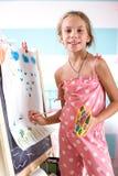 dziecka domu bawić się Fotografia Royalty Free