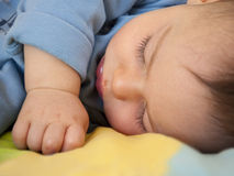 dziecka dosypianie Fotografia Royalty Free