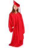 dziecka dziewczyny absolwenta dumna szkoła zdjęcie royalty free