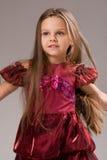 dziecka dziewczyny portret dosyć zdjęcie royalty free