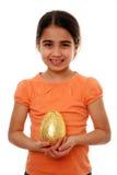 dziecka Easter jajko szczęśliwy obrazy stock