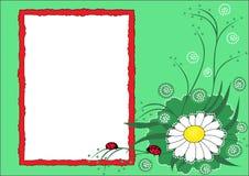 dziecka fotografii s szablon Obraz Royalty Free