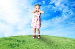 dziecka halizny szczęśliwy bawić się Obrazy Stock