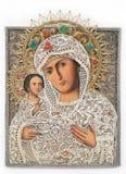 dziecka ikony madonna Obraz Stock