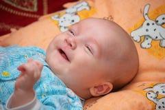 dziecka ja target21_0_ Zdjęcie Stock