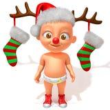 Dziecka Jake boże narodzenia Fotografia Stock