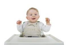 dziecka jedzenie Obraz Royalty Free