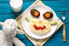 Dziecka jedzenie Zdjęcie Stock