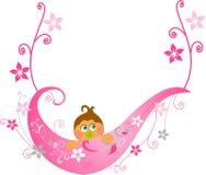 dziecka karciana powitania prysznic Zdjęcia Stock