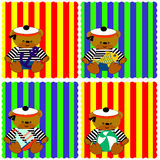 0116_14 dziecka karty ustawiać Fotografia Stock