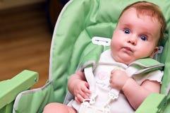 dziecka krzesła karmienie zdjęcia stock