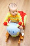 dziecka krzesła kołysać Zdjęcie Stock