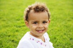 dziecka śliczny dziewczyny target1015_0_ Fotografia Stock