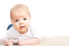 dziecka mały podłogowy fotografia stock