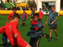 Dziecka miasta sportów rywalizacje zdjęcie royalty free