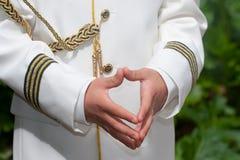 dziecka modlenie Obrazy Royalty Free