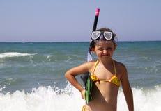 Dziecka morze Obraz Royalty Free