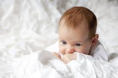 dziecka nowy urodzony Zdjęcia Royalty Free