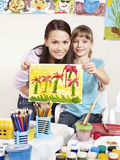dziecka obrazu preschool Obraz Stock
