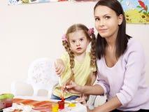 dziecka obrazu preschool Obraz Royalty Free