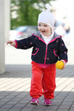 dziecka odprowadzenie fotografia royalty free