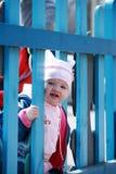 dziecka ogrodzenie Fotografia Royalty Free