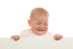 dziecka płaczu dziewczyna zdjęcia royalty free