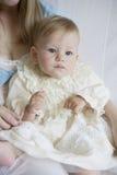 dziecka pięć dziewczyny miesiąc starzy Obrazy Stock