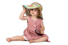 dziecka piękna dziewczyny dama trochę Obrazy Stock