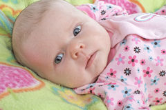 dziecka piękna kolorów dziewczyny wiosna Obraz Stock