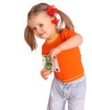 dziecka pieniądze koszula t Fotografia Stock