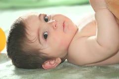 dziecka puszka podłogowy target2134_0_ Zdjęcie Royalty Free
