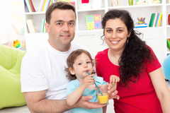 dziecka rodziny potomstwa zdjęcia stock