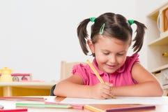 dziecka rysunku obrazek Zdjęcia Stock