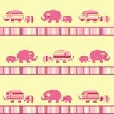 dziecka słonia matka royalty ilustracja