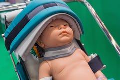 Dziecka ` s mannequin w szpitalu fotografia royalty free