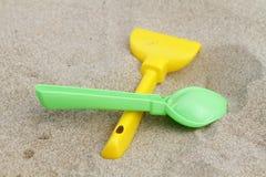 Dziecka ` s zabawki dla piaska Zdjęcie Royalty Free