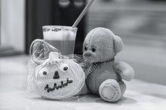 Dziecka ` s zabawki kakao Halloween Zdjęcia Stock