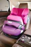 Dziecka samochodowy siedzenie obrazy royalty free
