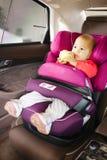 Dziecka samochodowy siedzenie dla bezpieczeństwa obraz stock