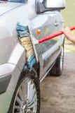 Dziecka samochodu obmycia Fotografia Royalty Free