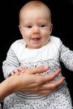 dziecka smiley Fotografia Royalty Free