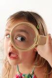 dziecka szkła target821_0_ Zdjęcia Stock