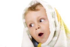 dziecka tła dziecka biel fotografia stock