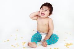 dziecka target1151_0_ Zdjęcia Royalty Free