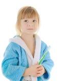 dziecka toothbrush fotografia royalty free