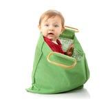 dziecka torby dziewczyny zakupy Obrazy Royalty Free