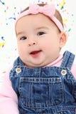 dziecka twarzy dziewczyna Obrazy Stock