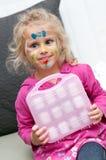 dziecka twarzy obraz Fotografia Stock